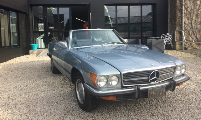 Paul's Classic Cars – Mercedes – Location – 1