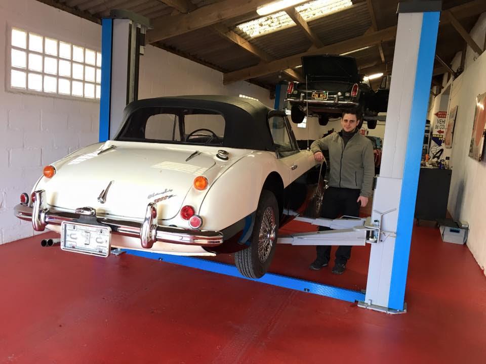 Paul's Classic Cars – l'atelier – 1