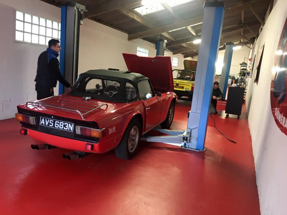 Paul's Classic Cars – l'atelier – 2