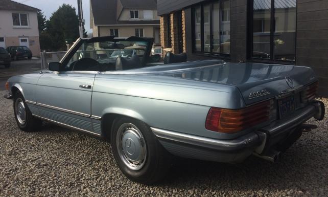 Paul's Classic Cars – Mercedes – Location – 4
